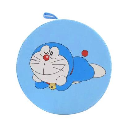 安吉宝贝可爱叮当猫椅子坐垫 机器猫加厚靠垫可拆洗 哆啦a梦圆形坐垫
