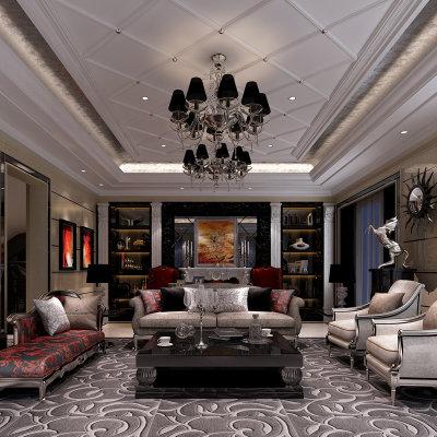 东易日盛 无锡店 全案装修设计效果图 家庭装修风格 室内家装设计
