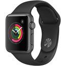 Apple Watch Sport Series 1智能手表(38毫米深空灰色铝金属表壳搭配黑色运动型表带 MP022CH/A)