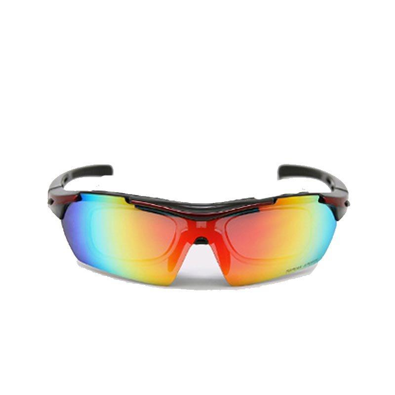 TOPEAK拓步骑行偏光眼镜带近视内框 户外运动太阳镜自行车防风护目镜 TSR838(珍珠光白)第3张商品大图