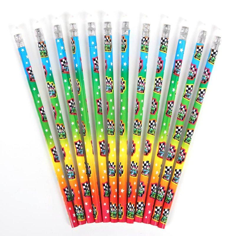 儿童爱心圣诞彩色铅笔 普通铅笔 韩国文具 12支装 SS00425 0.08(爱心铅笔)第3张商品大图