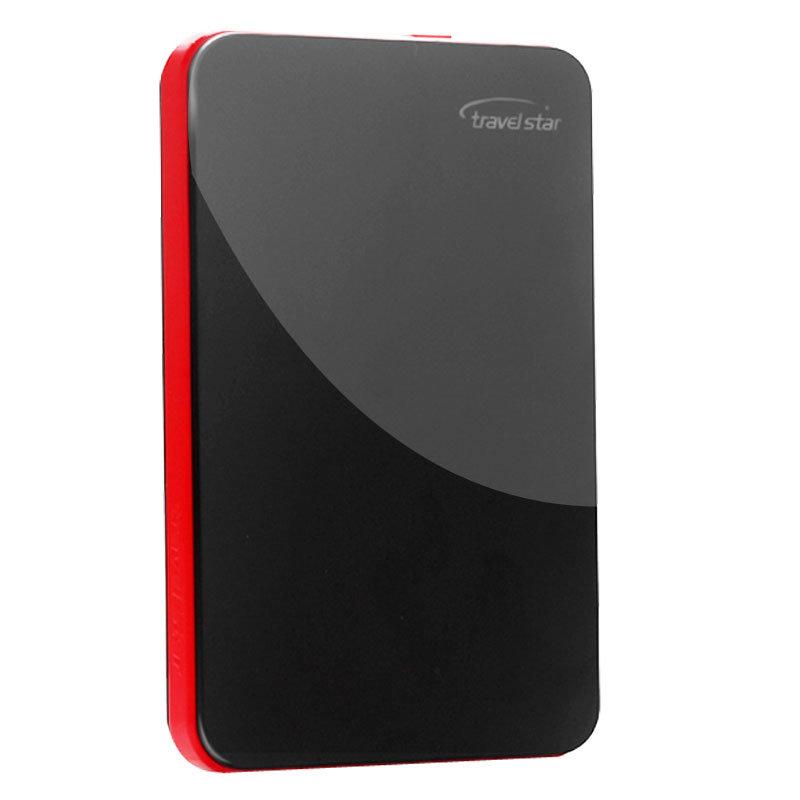 旅之星(Travelstar) 红玛丽 2.5寸 USB2.0 加密极速移动硬盘 100G第2张商品大图